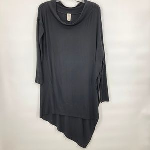 Like New WE the free black ribbed knit oversize to